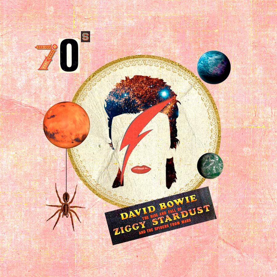 David Bowie collage